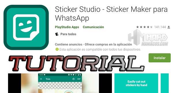 Sticker Studio Portada