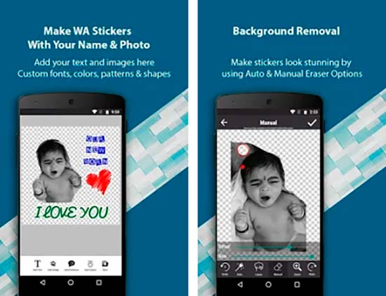 Stickers Creador para whatsapp