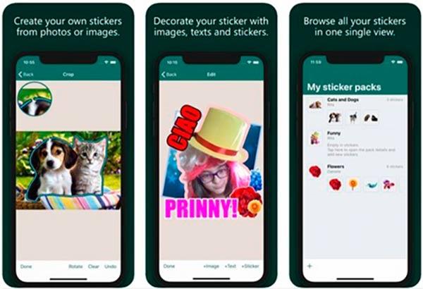 StickerApp crear stickers whatsapp gratis