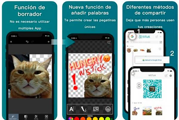 WSTick app crear sictickers whatsapp gratis