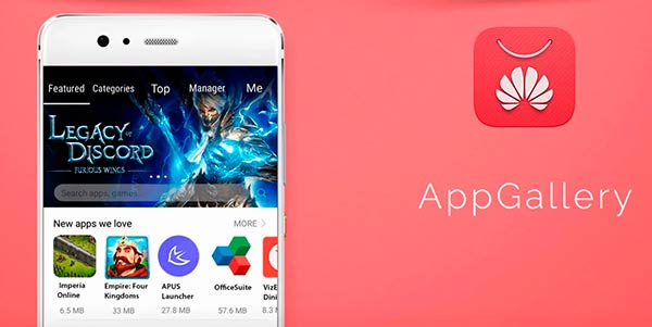 Huawei App Gallery para Android