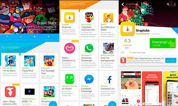 uptodown descargar aplicaciones Android