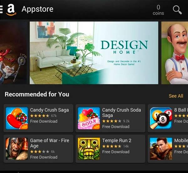 Amazon App Store Amazon Underground Android