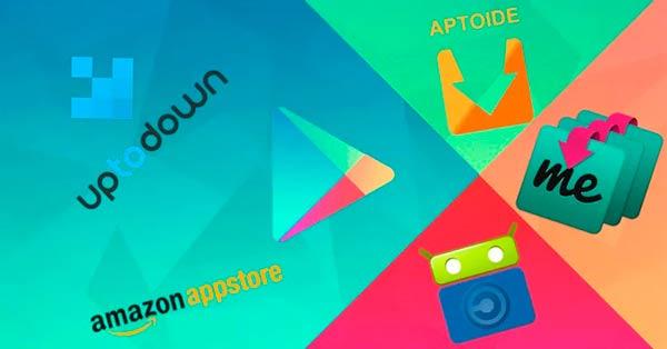 tiendas de aplicaciones Android Portada