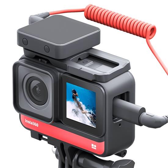 Insta 360 One R microfono