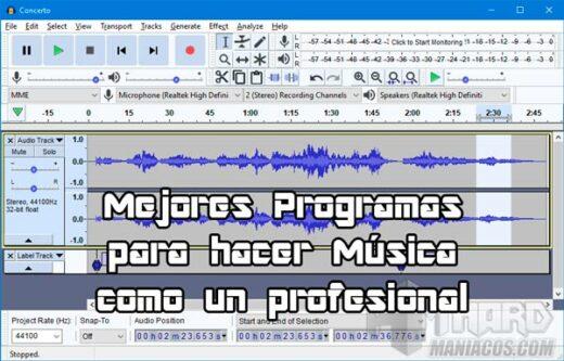 Programas para hacer Música como un profesional