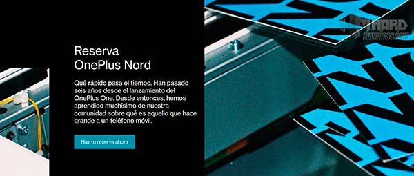 OnePlus Nord reserva