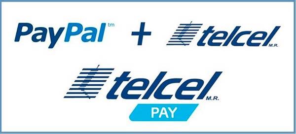 recargar movil paypal Telcel Pay