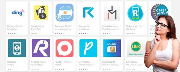 apps recargar movil online
