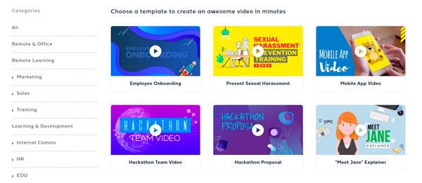Programas para hacer presentaciones Powtoon
