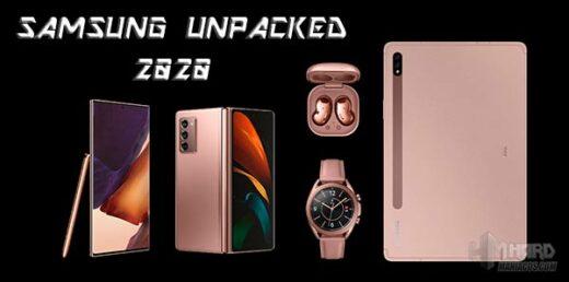 Samsung Unpacked 2020 agosto Portada