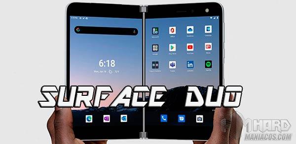 Surface Duo portada