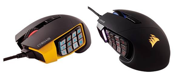mejores ratones gaming Corsair Scimitar