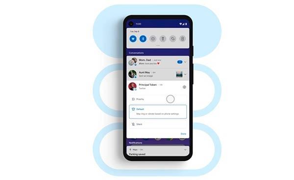 Android 11 notificaciones