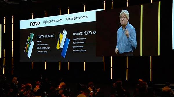 smartphones realme IFA 2020