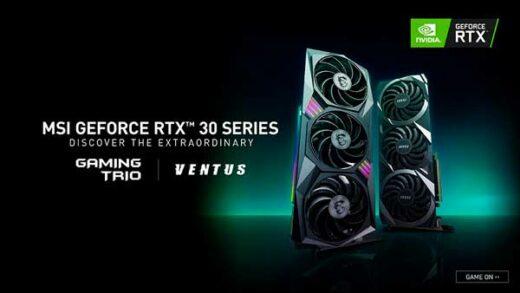 MSI NVIDIA GeForce RTX 30