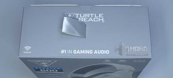 parte de arriba caja Turtle Beach Stealth 600 Gen 2