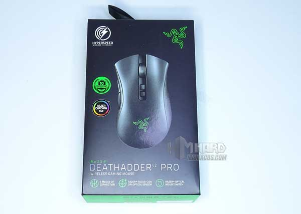 frontal caja Razer DeathAdder V2 Pro