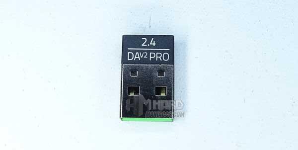 transmisor Razer HyperSpeed Wireless de raton Razer DeathAdder V2 Pro