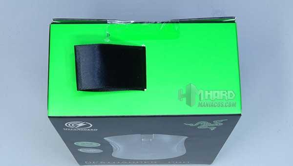 parte de arriba caja Razer DeathAdder V2 Pro