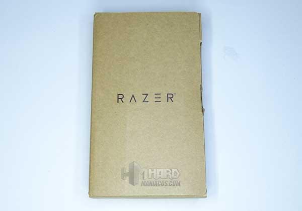 caja carton recilcado interior de Razer DeathAdder V2 Pro