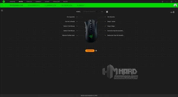 Razer DeathAdder V2 Pro Synapse Hypershift