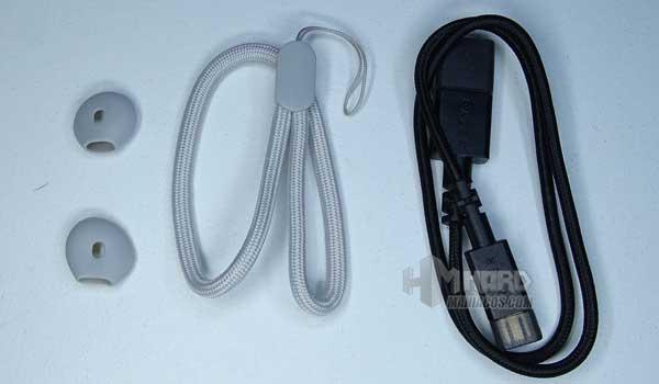 Razer Hammerhead True Wireless Earbuds Mercury accesorios