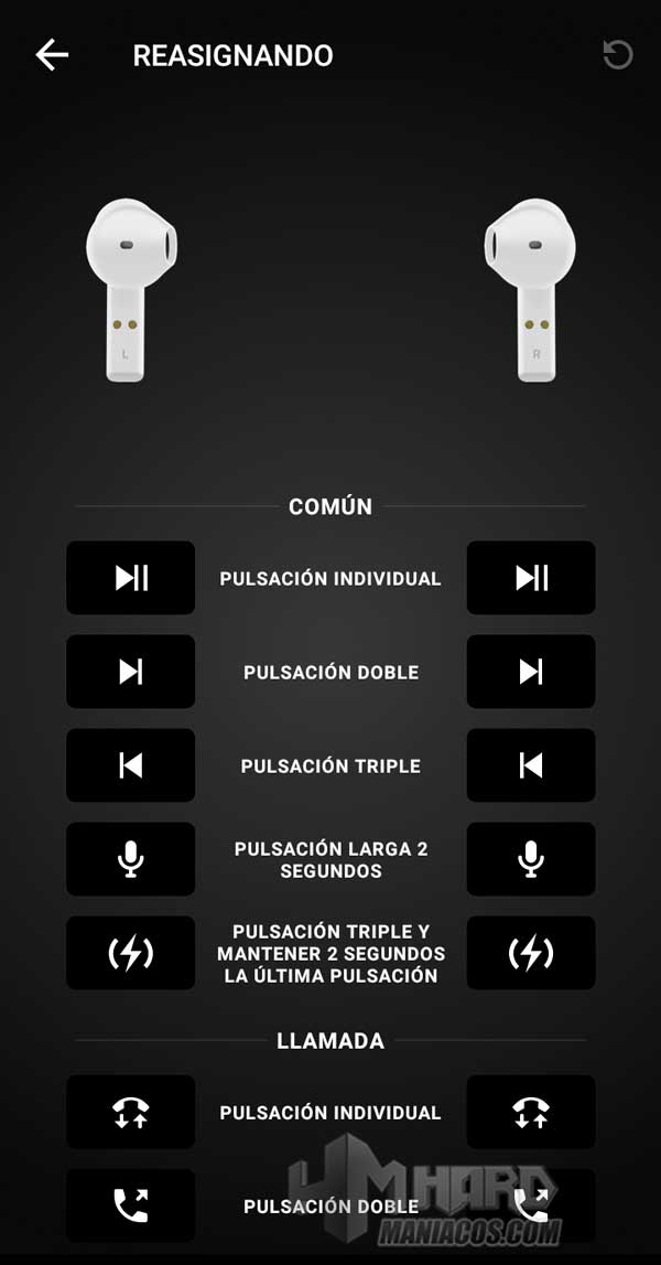 Razer Hammerhead True Wireless Earbuds Mercury app gestos tactiles