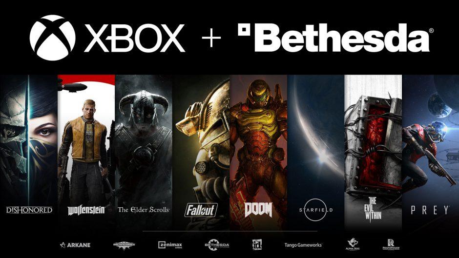 Lanzamiento de las nuevas consolas con la compra de Bethesda por parte de Microsoft