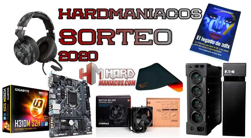 Super Sorteo Black Friday y Cyber Monday 2020: placa base y alfombrilla Gigabyte, disipador Noctua, SAI, auriculares, libro de gráficas 3dfx…
