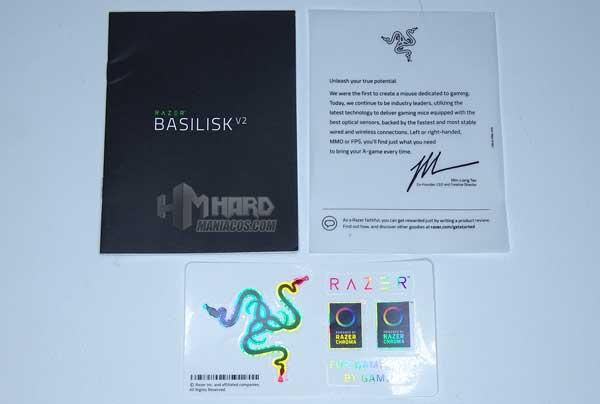 folletos Razer Basilisk V2