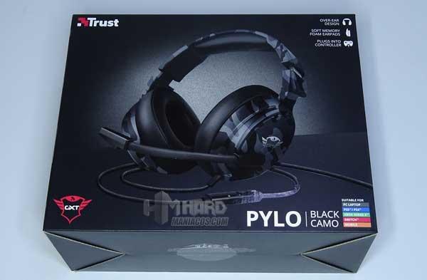 caja auriculares Trust GXT 433K Pylo