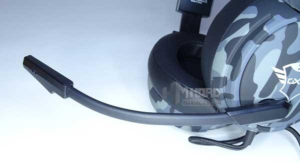 micro flexible de cascos Trust GXT 433K Pylo
