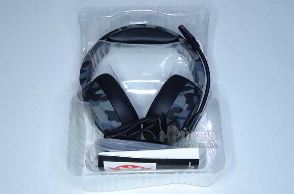 unboxing caja auriculares Trust GXT 433K Pylo