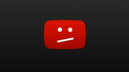 youtube caido