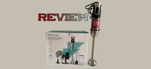 Review batidora Cecotec Powerful Titanium 1000 Pro