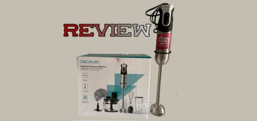 Review batidora Cecotec Powerful Titanium 1000 Pro