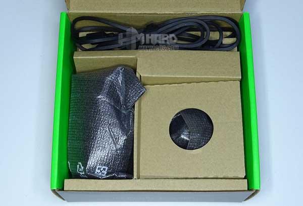 caja abierta unboxing Razer Seiren Mini