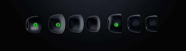 almohadillas earbuds Razer gaming