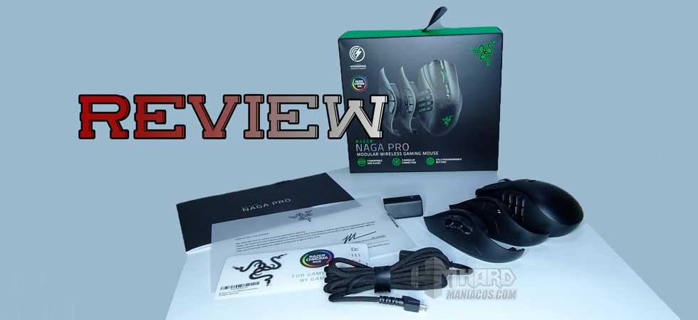 Razer Naga Pro Modular Wireless Gaming