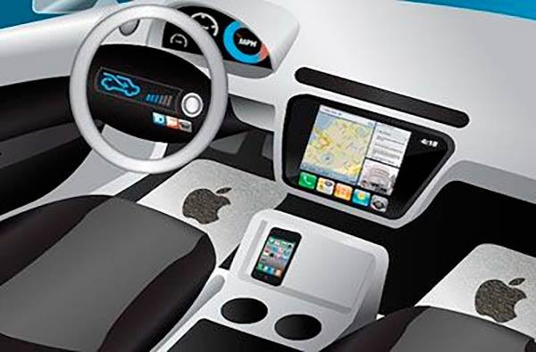 Apple iCar interior