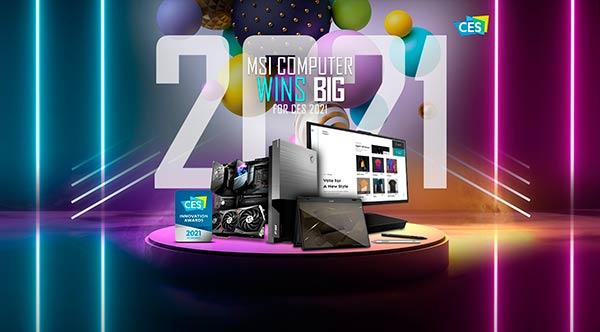 MSI en CES 2021 portada