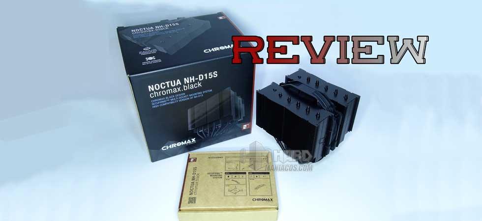 Review disipador Noctua NH-D15S Chromax.black