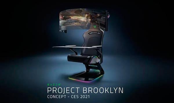 Razer silla project Brooklun CES 2021