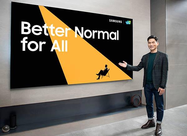 Samsung en CES 2021 Portada