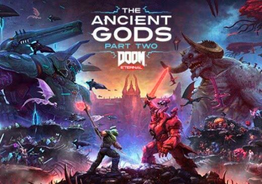 Portada Doom Eternal: The Ancient Gods – Part Two