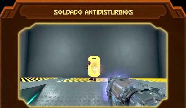 Soldado antidisturbios