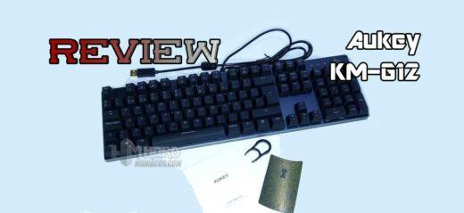 Review teclado Aukey KM-G12 Portada