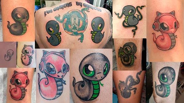 tatuajes Razer Sneki Snek