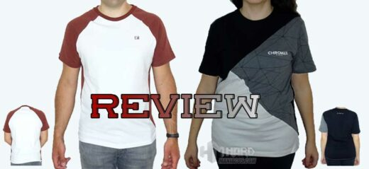 camisetas Noctua NP-T1 y Noctua NP-T2 Portada